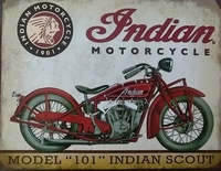 INDIAN 1901 - 1953 1165-43